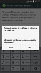 Configuración de Whatsapp - Samsung Galaxy Alpha - G850 - Passo 6