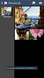 Transferir fotos vía Bluetooth - Samsung Galaxy S4  GT - I9500 - Passo 13