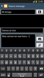 Envía fotos, videos y audio por mensaje de texto - Samsung Galaxy S4  GT - I9500 - Passo 12