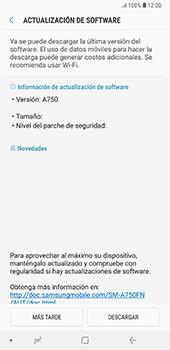 Actualiza el software del equipo - Samsung A7 2018 - Passo 8