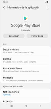 Limpieza de aplicación - Samsung Galaxy A10 - Passo 5