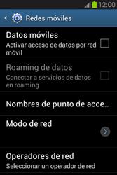 Desactiva tu conexión de datos - Samsung Galaxy Fame GT - S6810 - Passo 6