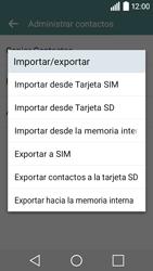 ¿Tu equipo puede copiar contactos a la SIM card? - LG C50 - Passo 7