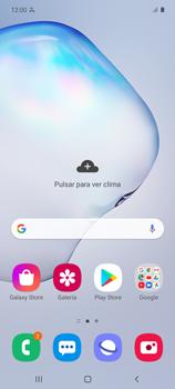 Cómo bloquear llamadas - Samsung Galaxy Note 10 Lite - Passo 1