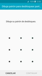 Desbloqueo del equipo por medio del patrón - Samsung Galaxy S6 Edge - G925 - Passo 7