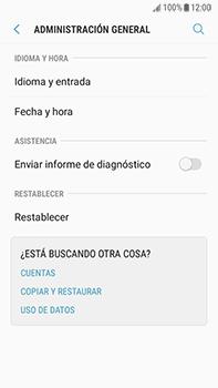 Restaura la configuración de fábrica - Samsung Galaxy J7 Prime - Passo 5