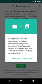 Configuración de Whatsapp - Motorola Moto E5 - Passo 5