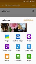 Envía fotos, videos y audio por mensaje de texto - Samsung Galaxy S6 Edge - G925 - Passo 16