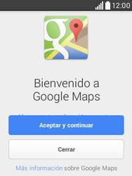 Uso de la navegación GPS - LG L20 - Passo 4