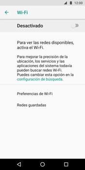 Configura el WiFi - Motorola Moto G6 Plus - Passo 6