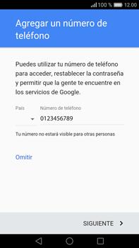 Crea una cuenta - Huawei Mate 8 - Passo 15