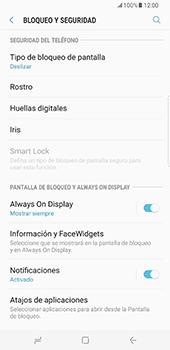Desbloqueo del equipo por medio del patrón - Samsung Galaxy S8+ - Passo 5