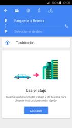 Uso de la navegación GPS - Samsung Galaxy S6 - G920 - Passo 10