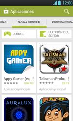 Instala las aplicaciones - LG Optimus L7 - Passo 4