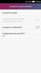 Configura el hotspot móvil - Huawei Y3 II - Passo 6