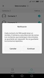 ¿Tu equipo puede copiar contactos a la SIM card? - Huawei P9 Lite Venus - Passo 8