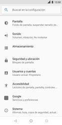 Restaura la configuración de fábrica - Nokia 3.1 - Passo 4
