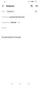 Cómo enviar un correo electrónico - Huawei P30 Lite - Passo 8