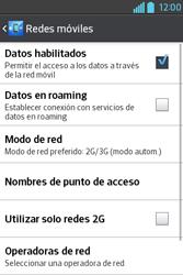 Configura el Internet - LG L4 II - Passo 6