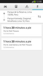 Uso de la navegación GPS - Samsung Galaxy Zoom S4 - C105 - Passo 12