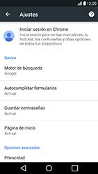 Configura el Internet - LG K10 2017 - Passo 23