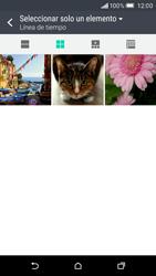 Envía fotos, videos y audio por mensaje de texto - HTC One M9 - Passo 15
