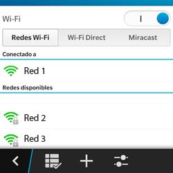 Configura el WiFi - BlackBerry Q5 - Passo 9