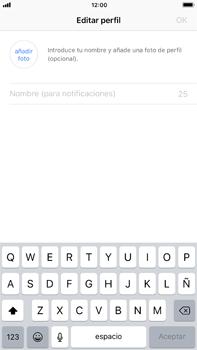 Configuración de Whatsapp - Apple iPhone 7 Plus - Passo 11