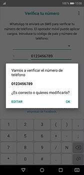 Configuración de Whatsapp - Huawei P20 - Passo 9