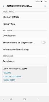 Restaura la configuración de fábrica - Samsung A7 2018 - Passo 5