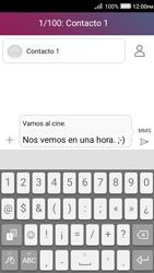 Envía fotos, videos y audio por mensaje de texto - Huawei Y3 II - Passo 10