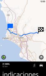 Uso de la navegación GPS - Nokia Lumia 720 - Passo 17