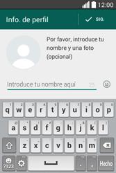 Configuración de Whatsapp - LG L40 - Passo 8