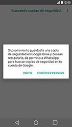 Configuración de Whatsapp - LG X Cam - Passo 12