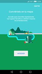 Uso de la navegación GPS - Huawei Cam Y6 II - Passo 5