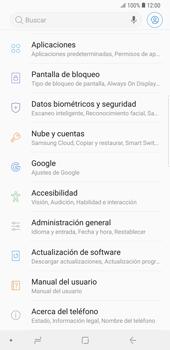 Realiza una copia de seguridad con tu cuenta - Samsung Galaxy Note 9 - Passo 4