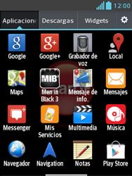 Configura el Internet - LG Optimus L3 II - Passo 18