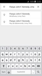 Uso de la navegación GPS - Samsung Galaxy S6 - G920 - Passo 12