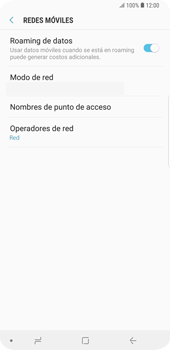 Configura el Internet - Samsung Galaxy Note 9 - Passo 8