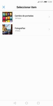 Envía fotos, videos y audio por mensaje de texto - Huawei Y7 (2018) - Passo 13