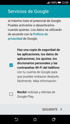 Crea una cuenta - HTC Desire 626s - Passo 15