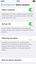 Desactiva tu conexión de datos - Apple iPhone 5c - Passo 3