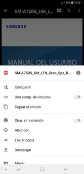 Descargar contenido de la nube - Samsung A7 2018 - Passo 10