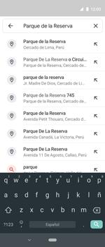 Uso de la navegación GPS - Motorola One Vision (Single SIM) - Passo 6