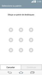Desbloqueo del equipo por medio del patrón - LG G3 D855 - Passo 9