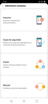 ¿Tu equipo puede copiar contactos a la SIM card? - LG G7 ThinQ - Passo 7