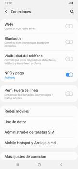 Desactiva tu conexión de datos - Samsung Galaxy A50 - Passo 4