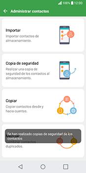 ¿Tu equipo puede copiar contactos a la SIM card? - LG Q6 - Passo 11