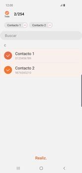 ¿Tu equipo puede copiar contactos a la SIM card? - Samsung S10+ - Passo 10