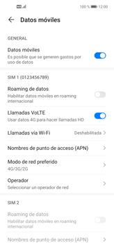 Cómo hacer una llamada por VoLTE - Huawei P40 Lite - Passo 6